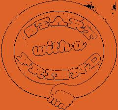 logo start with a friend